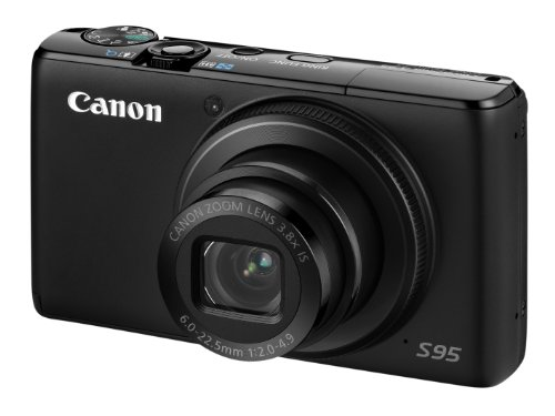 Canon PowerShot S95 Digital Camera (High Sensitivity 10 Megapixel, 3.8x Zoom, 3.0 inch LCD Screen)