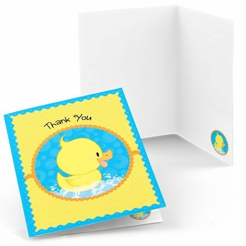 Ducky Duck Thank You Cards (8 count) - 1