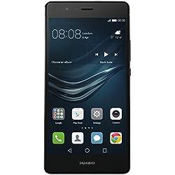 Huawei P9 lite Smartphone, Display 5.2'' Full HD, Processore Octacore, 16GB Memoria interna, 3GB RAM, Fotocamera 13MP, Single-SIM, Android 6.0 Marshmallow, Nero [Italia]