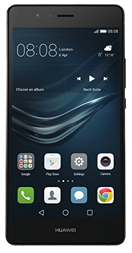 Huawei P9 Lite Smartphone No Brand,Display 5.2'' Full HD, Processore Octacore, 16GB Memoria Interna, 3GB RAM, Fotocamera 13MP, Single-SIM, Android 6.0 Marshmallow, Nero [Italia]