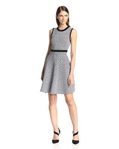 Susana Monaco Women's Lola Jacquard Fit & Flare Dress