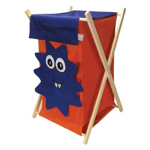 Trend Lab Snuggle Monster Hamper Set, Blue - 1