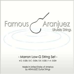 Famous マロン弦Low-Gセット ソプラノ コンサート テナー