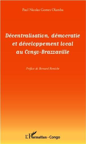 Décentralisation democratie et developpement