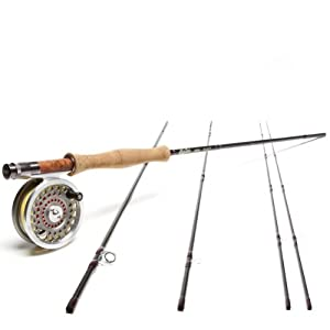 Red Truck Diesel  Dry Fly  4 Wt Fly Fishing Outfit - Ready to Fish by Red Truck Fly Rods