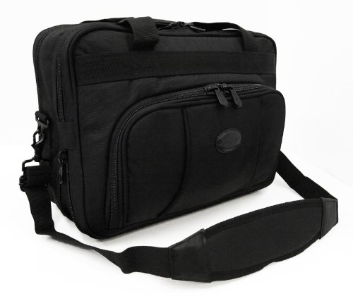 Brand New Mens Womens Travel Laptop Business Executive Carry Case (Black)