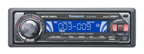 Panasonic CQ-DFX 683N Autoradio black-chrom
