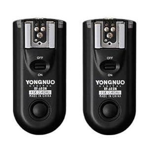 YongNuo RF-603/N3 Wireless Flash Trigger for Nikon D7000, D7100, D90, D3100, D3200, D5200, D5100, D5000