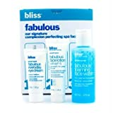 Bliss - Fabulous Starter Kit: Foaming Face Wash 60ml + Eye Cream 5ml + Face Lotion 15ml - 3pcs