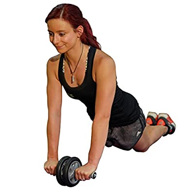 The Ab Wheel Roller Pro - #1Rated Ab Roller on Amazon Because it Works - Smooth Workout - Comes Fully Assembled.