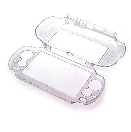 BestDealUSA Durable Clear Crystal Hard Cover PC Case Suitable For Vita PSP PS New