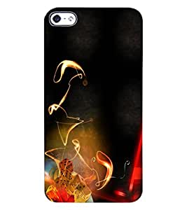 ColourCraft Printed Design Back Case Cover for APPLE IPHONE 4S