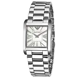 Emporio Armani AR2050 - Reloj de pulsera mujer, acero inoxidable