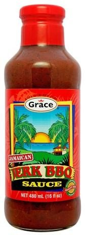 Grace Jerk BBQ Sauce, 16oz