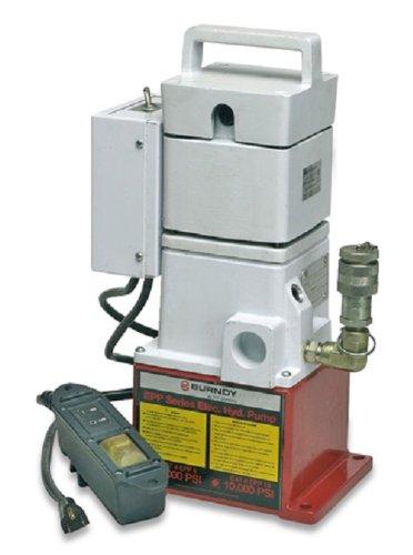 Burndy Epp10 Epp Series Electric/Hydraulic Pump, 10000 Psi