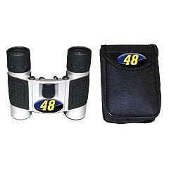 NASCAR Jimmie Johnson #48 High Powered Compact Binoculars by Logo Art