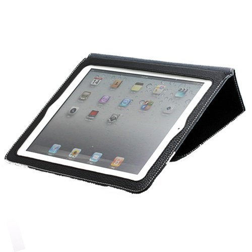 YOOBAO Black Leather Case For Apple iPad 2 2nd Generation 16GB 32GB 64GB 3G Wifi