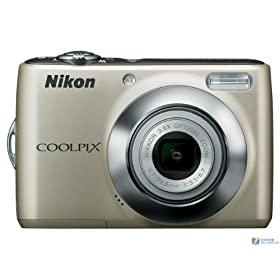 Nikon Coolpix L21 8MP Digital Camera with 3.6x Optical Zoom and 2.5-Inch LCD (Silver)