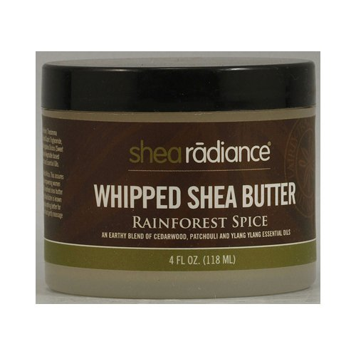 Shea Radiance Whipped Shea Butter Rainforest Spice - 4 fl oz