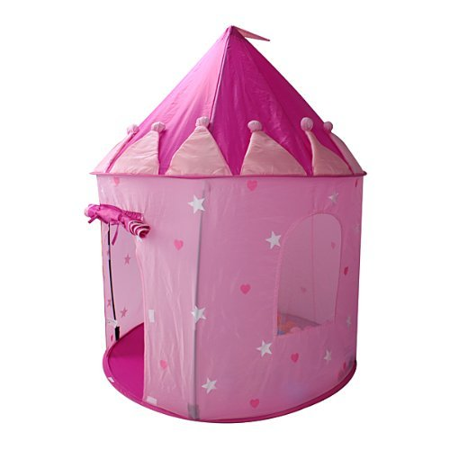 Girls Pop-up Play House Pink Castle