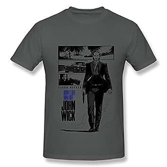 HUBA Men's Tshirt Keanu Reeves John Wick DeepHeather | Amazon.com