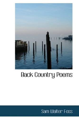 Back Country Poems