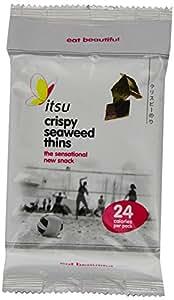 itsu Crispy Seaweed Thins 5 g (Pack of 18)