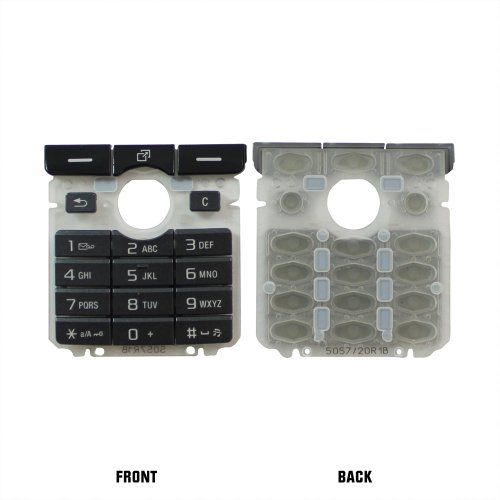 Sony Ericsson K750 Dark Gray Original Replacement Oem Keypad