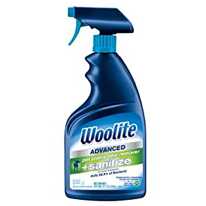 Woolite Advanced Pet Stain & Odor Remover + Sanitize, 11521