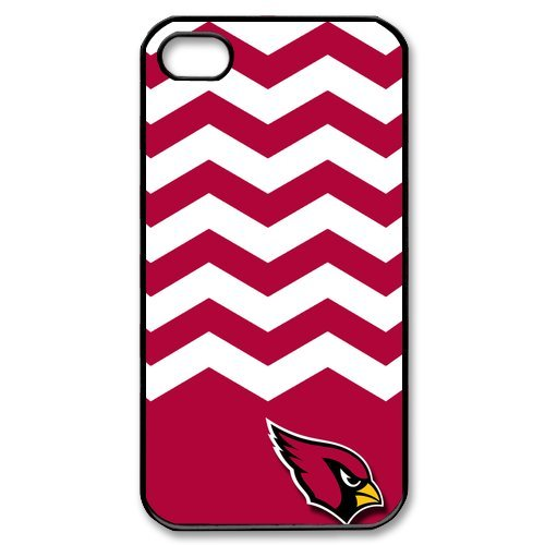 Funny Fashion New Ultra clear color high-definition image NFL Arizona Cardinals phone case, Arizona Cardinals iPhone 4 4S Faceplate Hard Back Protector Case Snap On Cover
