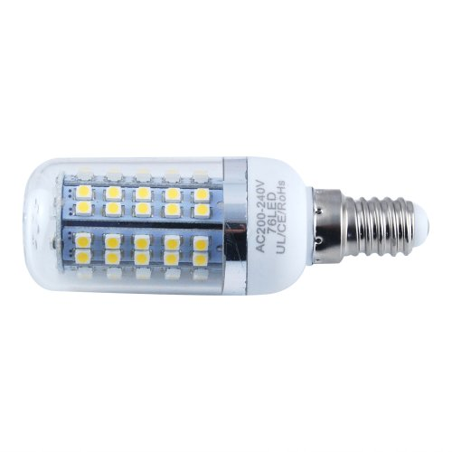 THG E27 Warm White 76 SMD 3528 LED 240LM Corn Light Spotlight Lamp For Cafe Indoor Outdoor Decorative Lighting (pack of 4)