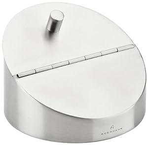 Auerhahn 24 3012 0653 A-Design Aschenbecher in Geschenkverpackung Edelstahl