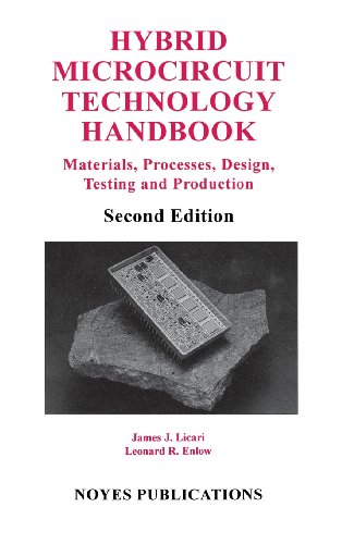 Hybrid Microcircuit Technology Handbook, 2Nd Edition, Second Edition: Materials, Processes, Design, Testing And Production (Materials Science And Process Technology)