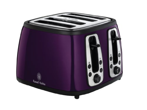 Russell Hobbs 18441 Heritage 4SL Toaster, Purple by Spectrum Brands Uk Ltd