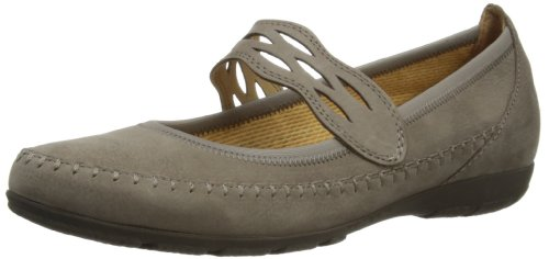 Gabor Womens Frances N Mary Jane Flats 84.161.13 Brown 7.5 UK, 41 EU