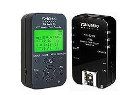 YONGNUO YN-622N-KIT Wireless i-TTL Flash Trigger Kit with LED Screen for Nikon D70/D70S/D80/D90/D200/D300/D300S/D600/D700/D800/ D3000series/D5000series/D7000series including 1X YN622N-TX Controller and 1X YN622 N Transceiver