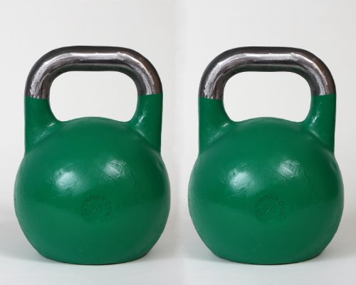 Pro Grade Russian Steel Competition Kettlebell 24kg x 2