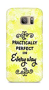 AMEZ practically perfect in every way Back Cover For Samsung Galaxy S7 Edge