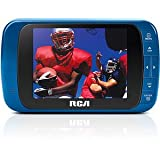 RCA DHT235A 3.5-Inch PORTABLE / HANDHELD LED-lit 720p 60Hz TV (Blue)