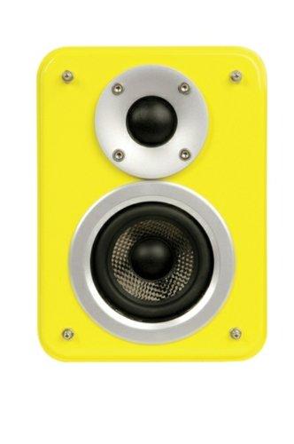Artsound Genius AS150 HGY Haut-parleurs multimédia Lounge Design 2 voies 110W Jaune