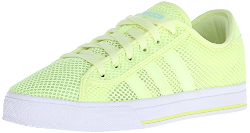 Adidas NEO Women's Daily Bind Skate Shoes,Frozen Yellow/Frozen Yellow/Blue Zest,6.5 M US