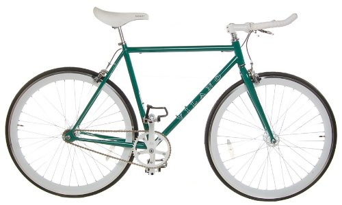 Vilano Edge Fixed Gear Fixie Single Speed Bicycle, Green, 50cm