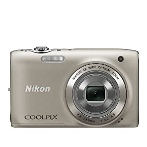 Nikon COOLPIX S3100 14 MP Digital Camera with 5x NIKKOR Wide-Angle Optical Zoom Lens and 2.7-Inch LCD