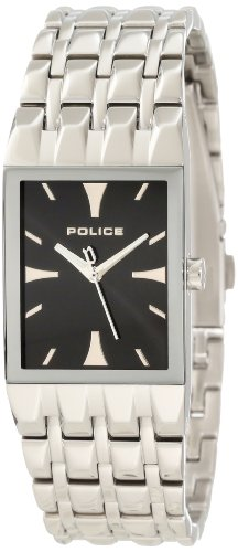 Police Ladies Watch Engage with Stainless Steel Bracelet and Black Dial