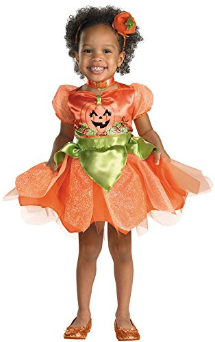 Toddler and Girls Pumpkin Patch Princess Costume