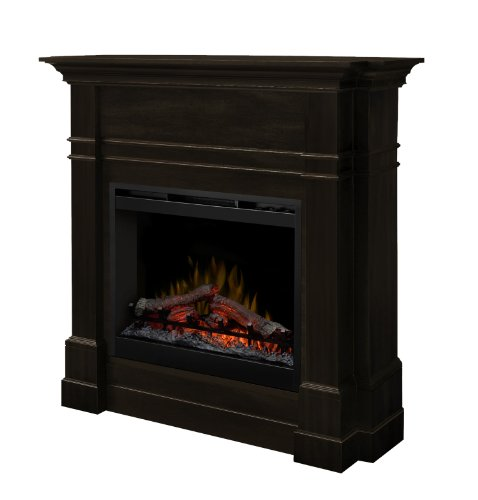 Dimplex Dfp26-5337Es Colton 49-Inch Tall By 47.7-Inch Wide Electric Fireplace Mantel, Espresso