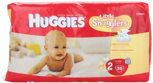Huggies Wetness Indicator
