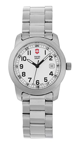 Swiss Army Victorinox 24973 Ladies Field Collection Womens Watch All Stainless Steel Date Mother Day Watch