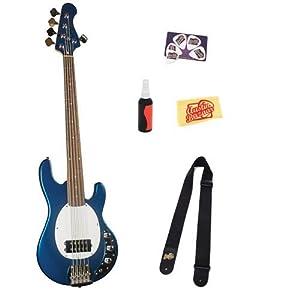 saga mb 10 build your own modern style 5 string electric bass guitar kit bundle with. Black Bedroom Furniture Sets. Home Design Ideas