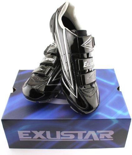 EXUSTAR E-SM631 Mountain Bike Shoes Nylon Sole Clip Molded Cup 44 EURO/ 10.5 US MENS